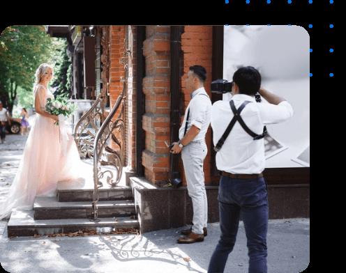 اجرای قرارداد فیلمبرداری مراسم عروسی